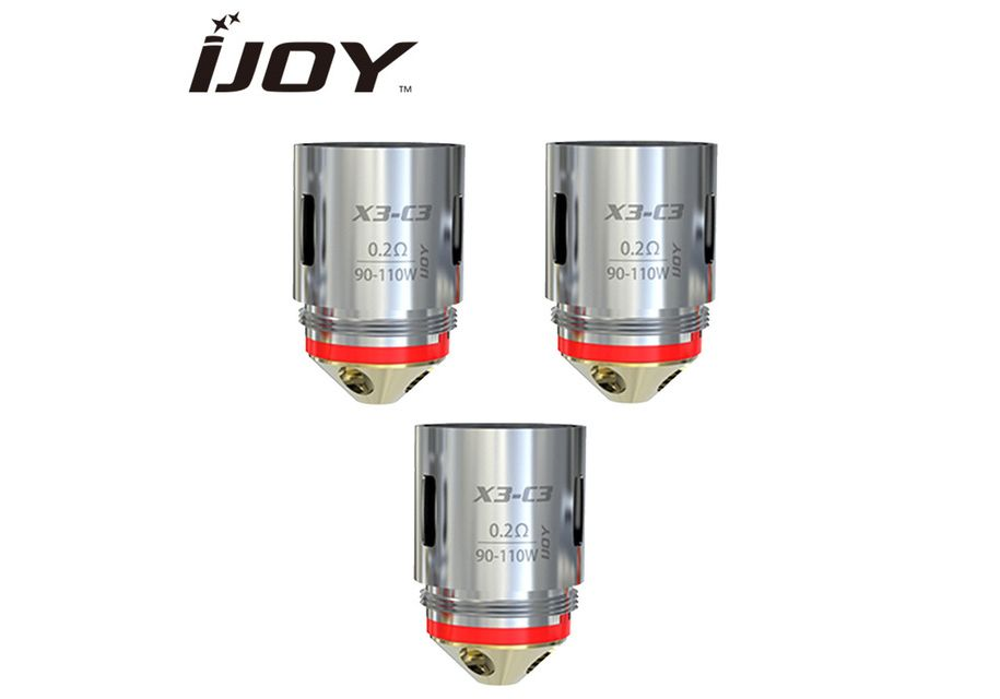 iJoy Captain X3S Replacement Coil DM-Mesh 0,15- 3PK